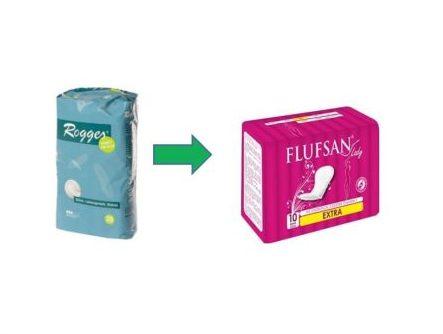 Flufsan Extra Inkontinenzeinlagen